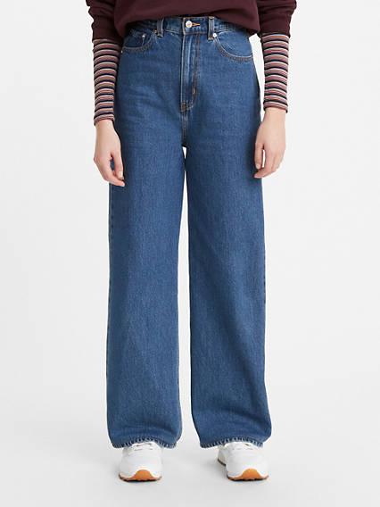 High Loose Cottonized Hemp Women's Jeans