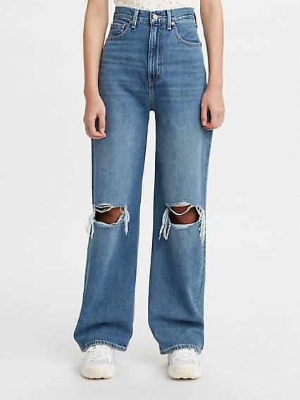 80s Jeans, Pants, Leggings | 90s Jeans Levis High Loose Womens Jeans 32x29 $108.00 AT vintagedancer.com