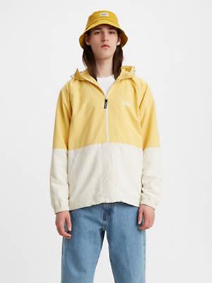 Levis Windbreaker Long Sleeve Men's Rain Jacket