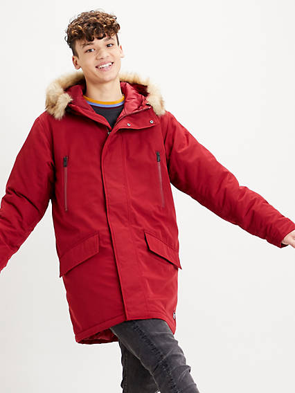Woodside Long Utility Parka