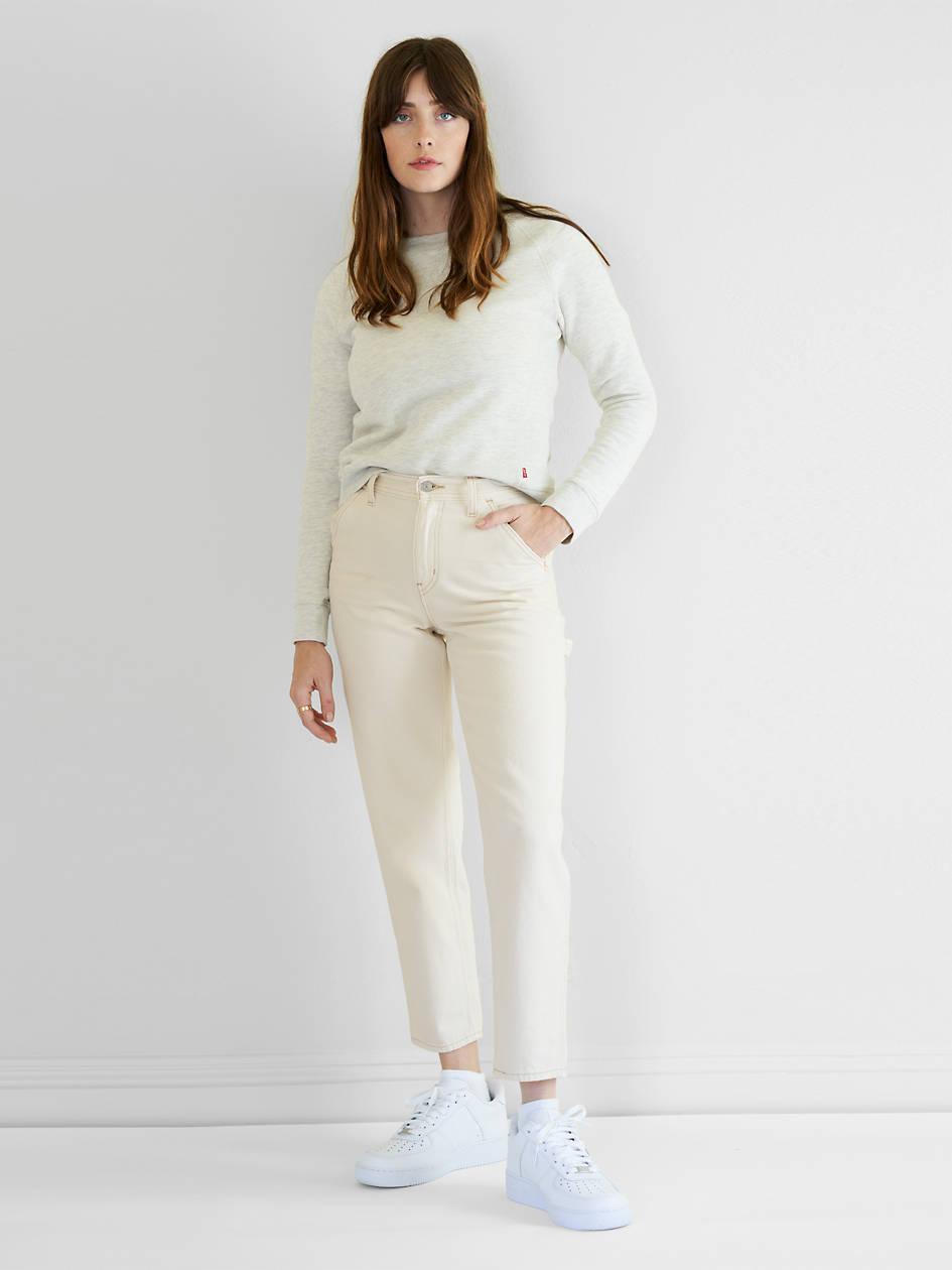 Painter Boy Women's Jeans - White   Levi's® US