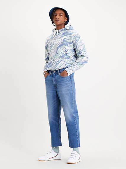 Stay Loose Denim Crop Jeans