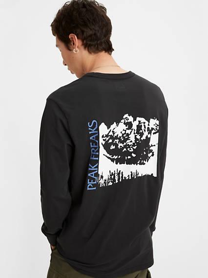 Skate Graphic Longsleeve Tee Shirt
