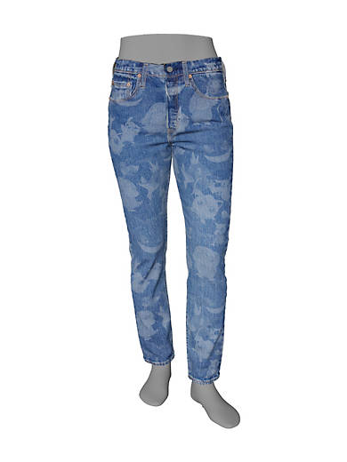 Levis 501 Skinny Womens Jeans