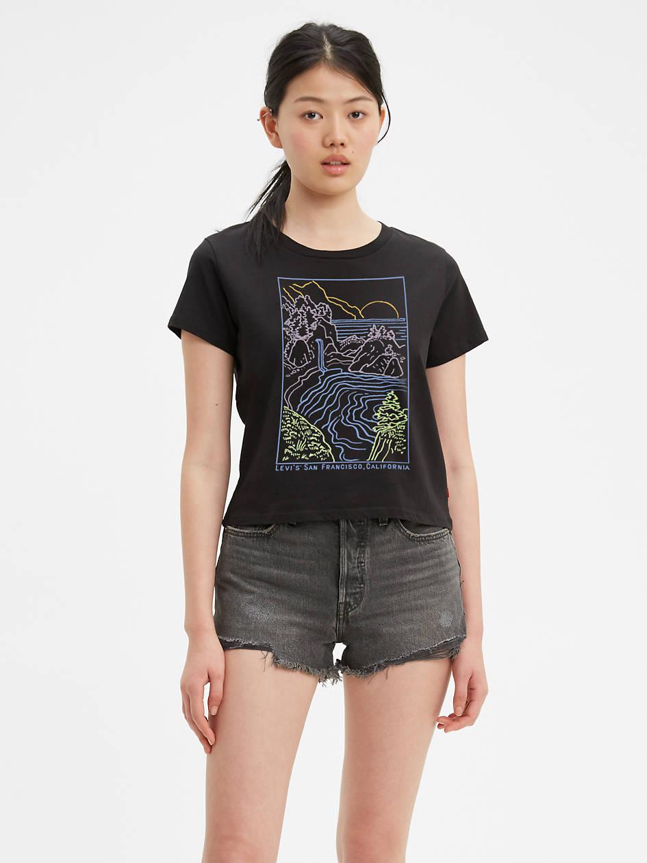 Graphic Surf Tee Shirt - Black | Levi's® US