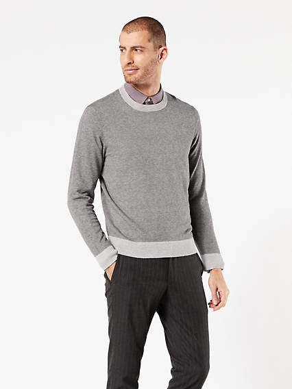 Crewneck Sweater Mid Gray Heather