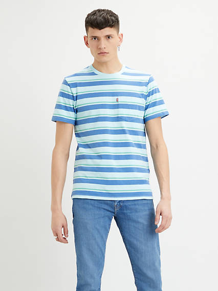 Set-In Sunset Pocket Short Sleeves