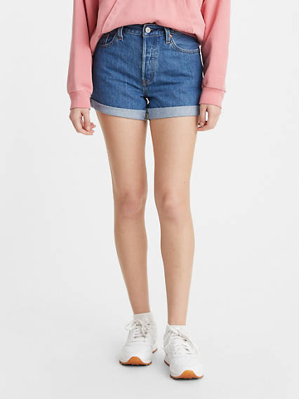 501® Long Womens Shorts