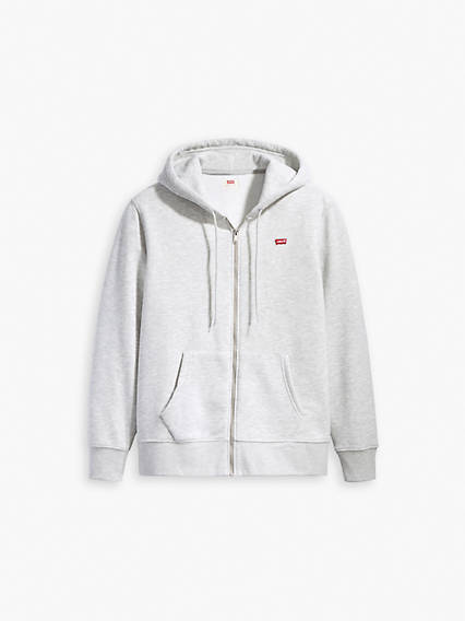 Core Zip Up Chisel Grey Heather