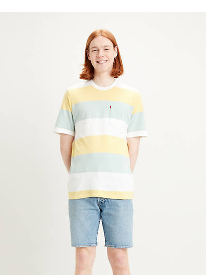 Sunset Pocket Relaxed Tee