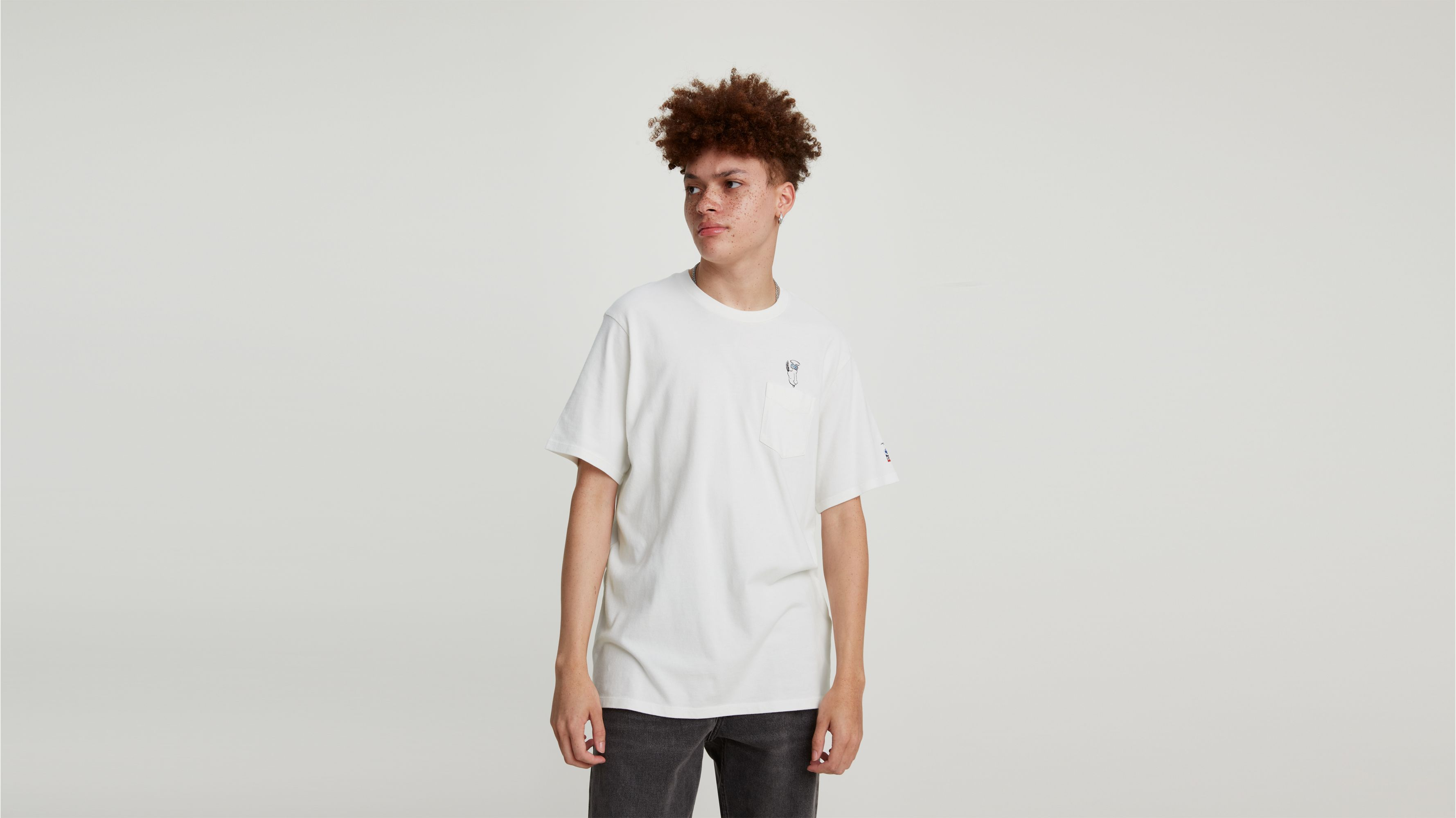 Levis X Peanuts Pocket Tee Shirt