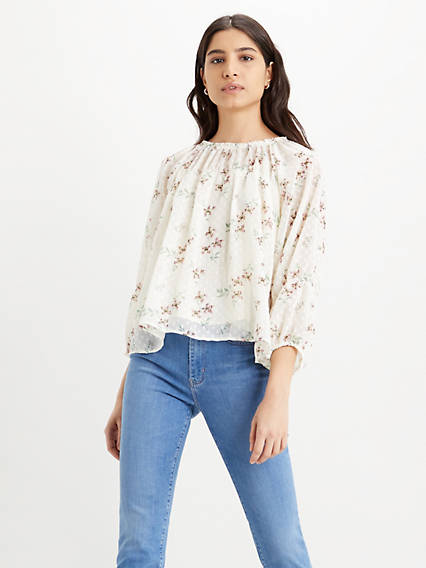 Dahlia Blouse Top