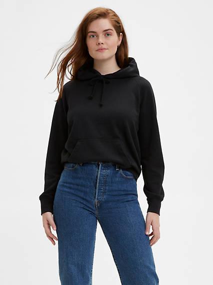 Women's Blank Fleece Hoodie