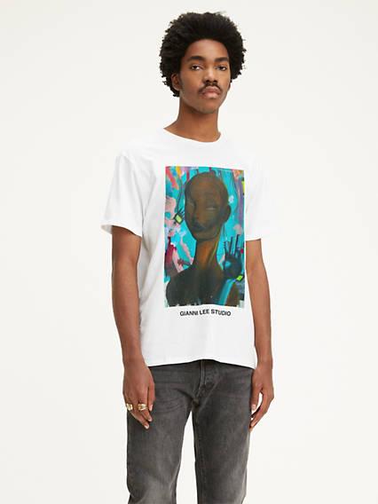 Levi's® x Gianni Lee Portrait Graphic Tee Shirt