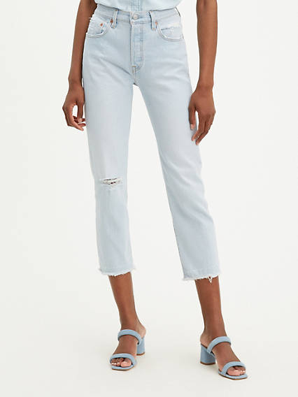 501® Original Stretch Cropped Women's Jeans