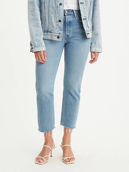 501® Original Stretch Cropped Women's Jeans
