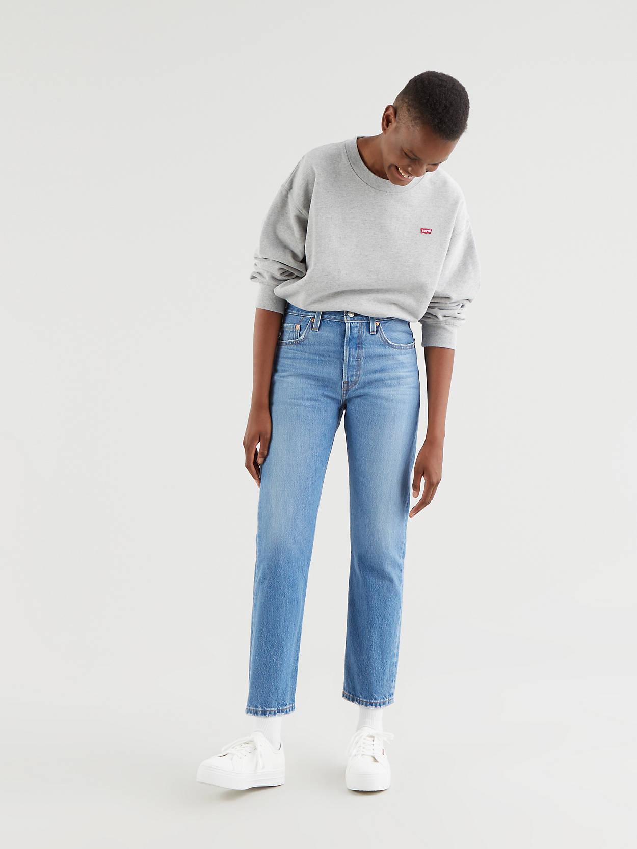 501® Levi's® Crop Jeans 1