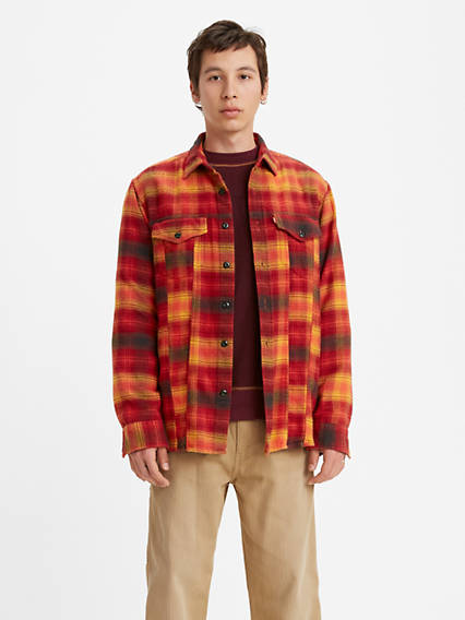 Longsleeve Oversized Trucker Shirt