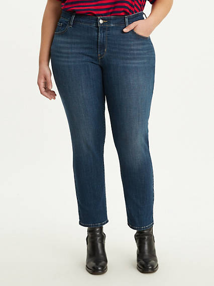 711 Ankle Skinny Women's Jeans (Plus Size)
