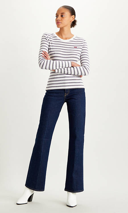 Ribcage Bootcut Jeans Indigo | Levi's® NO