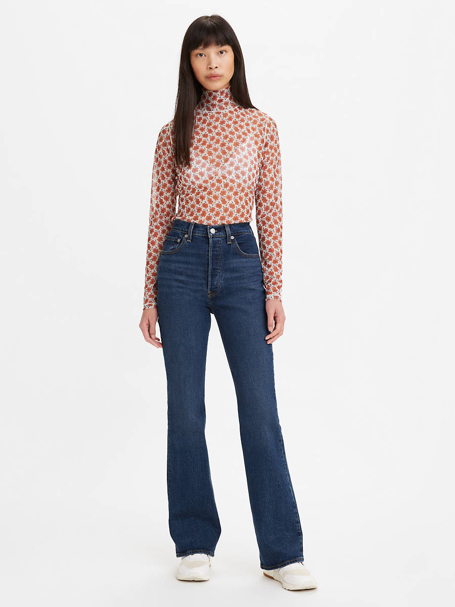 Ribcage Bootcut Jeans 1