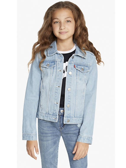 Big Girls (7-16) Trucker Jacket