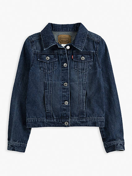Little Girls 4-6x Trucker Jacket