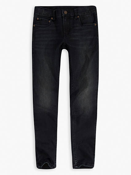 Skinny Taper Fit Big Boys Jeans (8-20)
