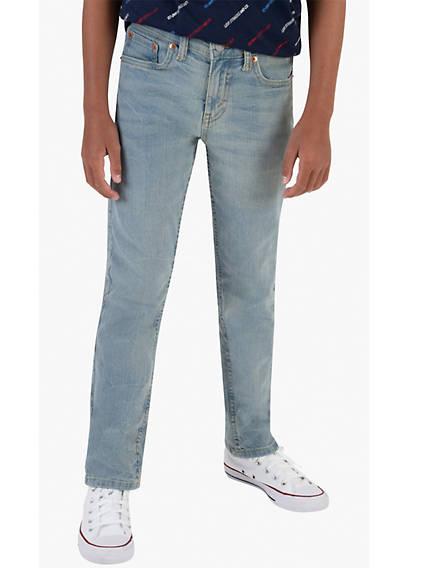502 Taper Fit Big Boys Jeans (Husky) 8-20
