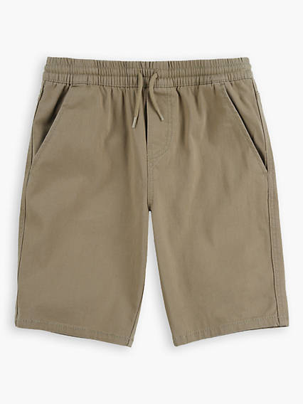 Little Boys 4-7x Box Tab Pull On Chino Shorts