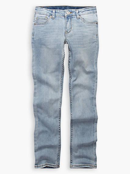711 Skinny Fit Big Girls Jeans 7-16