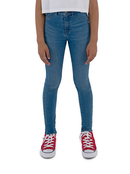Big Girls 7-16 720 High Rise Super Skinny Fit Jeans