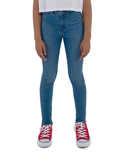 Big Girls 7-16 720 High Rise Super Skinny Fit Jeans