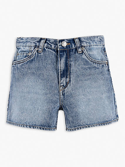 Big Girls 7-16 A Line High Rise Shorts
