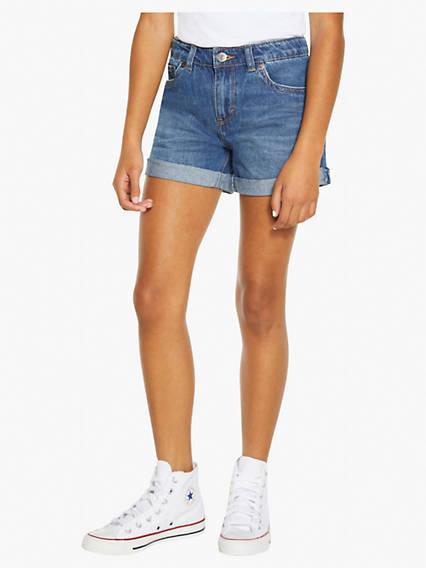 Big Girls 7-16 Girlfriend Shorty Shorts