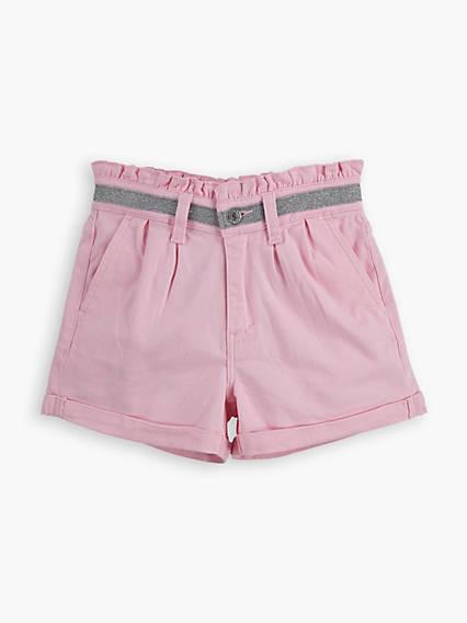 High Rise Big Girls Shorts 7-16