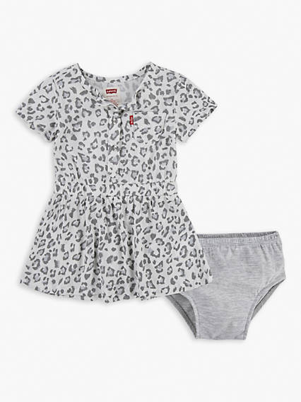 Baby 12-24M Leopard Dress