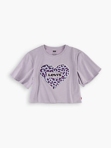 Toddler Girls 2T-4T Sparkle Tee Shirt