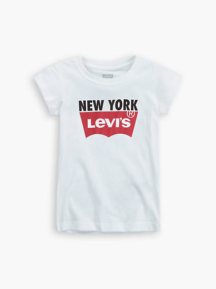 Little Girls (4-6x) New York Tee