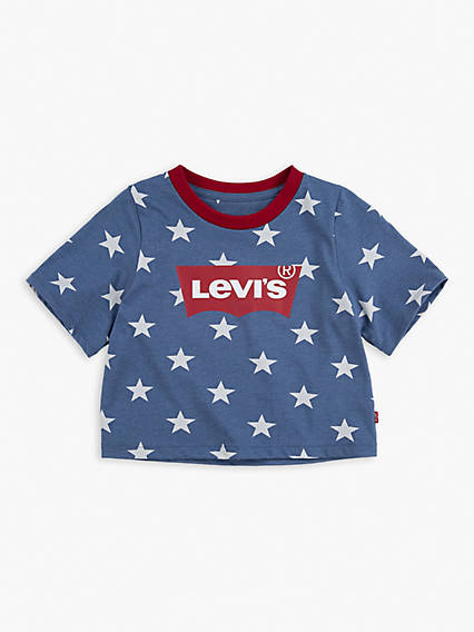 Toddler Girls 2T-4T Star High Rise Top