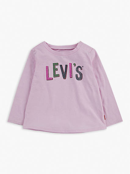 Baby Long Sleeve Graphic Tee Shirt