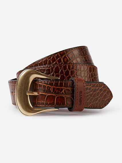Vintage Crocodile Belt