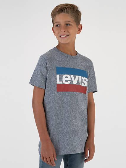 Big Boys S-XL Graphic Tee Shirt