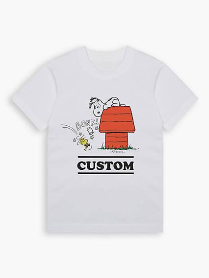 Little Kids 4-7 Blank Tee Shirt