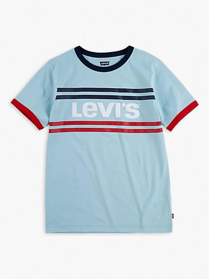 Big Boys 8-20 Levi's® Stripe Ringer Tee