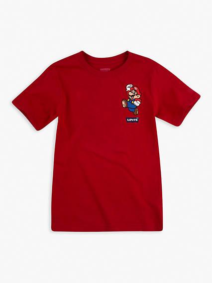 Toddler Boys 2T-4T Tee Shirt Levi's® x Super Mario