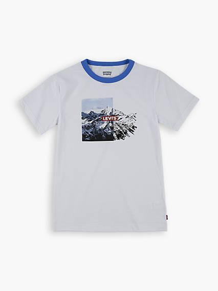 Toddler Boys 2T-4T Graphic Ringer Tee Shirt