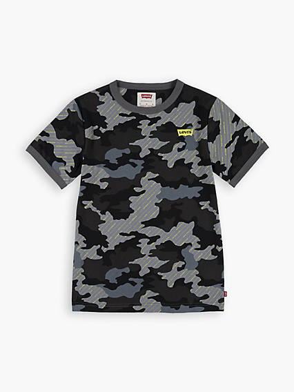 Big Boys (8-20) Camo Graphic Tee Shirt
