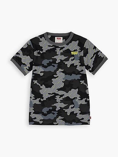 Big Boys S-XL Camo Graphic Tee Shirt
