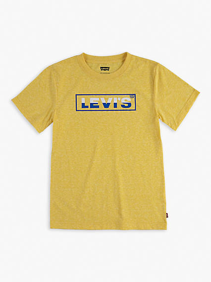 Little Boys (4-7) Box Tab Graphic Tee Shirt